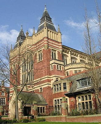 Red brick university - Image: Great Hall Leeds