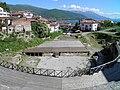 Greek Theatre built in 200 BC, Lychnidos, Ohrid, Republic of Macedonia FYROM (8397094875).jpg