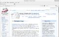 Greek Wikipedia screenshot Firefox on Linux.png