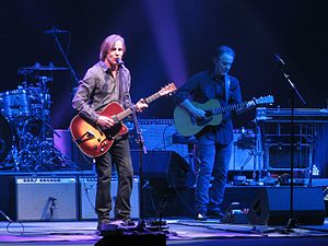 Greg Leisz - Leisz playing guitar with Jackson Browne (left) in Greenville, South Carolina, 2015