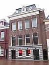 foto van Herenhuis met kaaspakhuis in eclectische bouwstijl met neo-classicistische stijlkenmerken