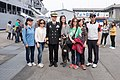 Group Portrait of Lin Yu-pin, ROCN Rear Admiral and Guests 20150316.jpg