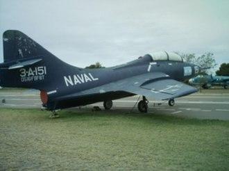Argentine Naval Aviation - Grumman F9F Cougar