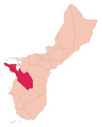 Guam map Santa Rita.png