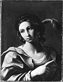 Guercino (Giovanni Francesco Barbie (Kopie nach) - Frauenbildnis - 6017 - Bavarian State Painting Collections.jpg