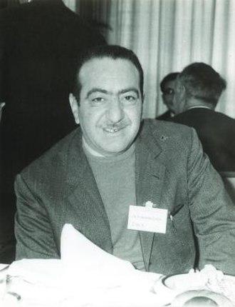 Guido Stampacchia - Guido Stampacchia in Tokyo, 1969 (photo from MFO)