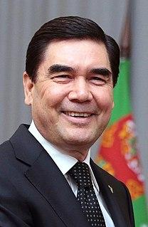 Gurbanguly Berdimuhamedow President of Turkmenistan