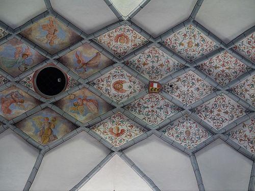 Gurk Dom Maria Himmelfahrt Innen Gewölbe 3.JPG