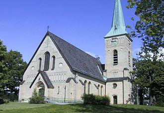 Gustavsberg, Värmdö Municipality - Gustavsberg Church