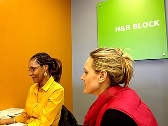 H&R Block - Image: H&R Block Tax Service Mar 2013