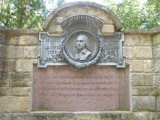 Friedrich Hölderlin Memorial in Lauffen am Neckar (Source: Wikimedia)