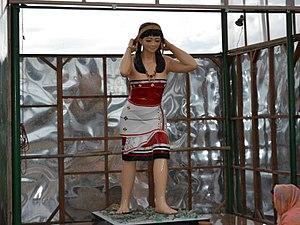 Kakching - Image: HAO SAMPUBI STATUE