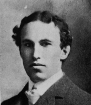 H. J. Davall - Davall pictured in the 1901 Class Book of Cornell University