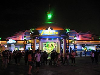 Buzz Lightyear attractions - Former site of Buzz Lightyear Astro Blasters at Hong Kong Disneyland