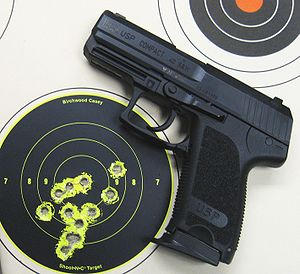 Heckler & Koch USP - The USP Compact in .40 S&W.
