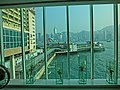 HK 尖沙咀 TST 海港城 Harbour City glass wall window view Victoria Harbour Star Ferry Piers Mar-2013.JPG