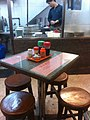 HK Michelin Guide 米芝蓮 食肆 listed restaurant 羅富記粥麵專家 Law Fu Kee Noodle Central shop interior Table Chairs Feb-2012.jpg