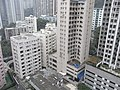 HK Mid-levels 21 Robinson Road Good View Court roof view Robinson Garden Apartment March-2011.JPG