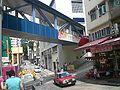 HK Sai Ying Pun Second Street Walkway 2 Western Market Taxi.JPG