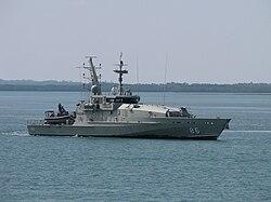 HMAS Albany im Jahr 2010