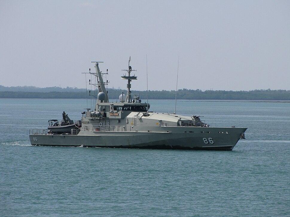 HMAS Albany 2010
