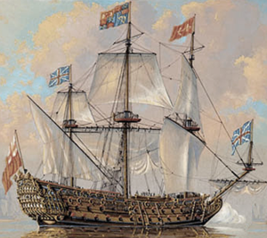 HMS Royal Charles (1673) - Image: HMS Royal Charles