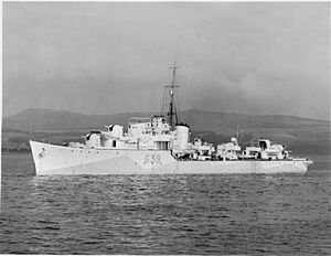 HMS Obdurate (G39) - Image: HMS Obdurate (G39)