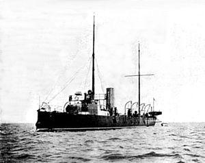 HMS Rattlesnake (1886) - Image: HMS Rattlesnake (1886)