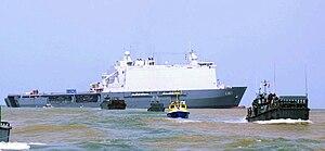 Africa Partnership Station - HNLMS Johan De Witt on location