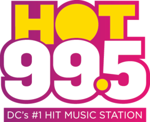 WIHT - Image: HOT995 new logo with slogan