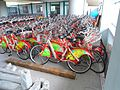 Haikou bicycle rental - thousands of bicycles in storage - 03.jpg
