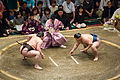 Hakuhō vs Gōeidō May 2014.jpg