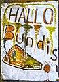 Hallo Bundis- Lankower Begrüßungsplakat Herbst 1989.jpg