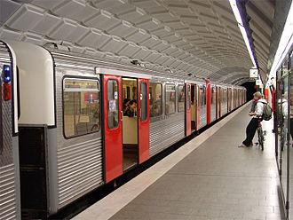 Hamburg U-Bahn - Image: Hamburg U Bahn Hauptbahnhof Nord