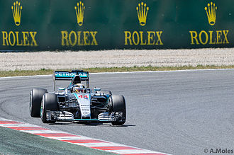 2015 Spanish Grand Prix - For the first time in 2015, Lewis Hamilton did not take pole position.