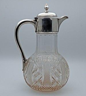 Silver claret jug - Hamilton and Inches claret jug Edinburgh 1902