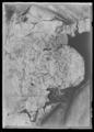 Handhästtäcke ur en svit om tolv stycken med svenska riksvapnet. Har tillhört Karl XI (1655-1697) - Livrustkammaren - 51705.tif