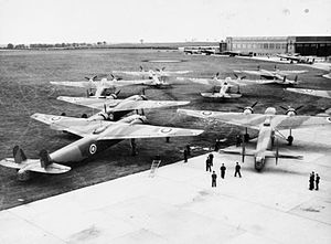 Handley Page H.P.54 Harrow - Harrows of 214 Squadron at RAF Feltwell in 1938.