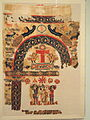 Hanging with Christian Images and Symbols, 500s AD, Egypt, Byzantine period, wool and linen - Cleveland Museum of Art - DSC08457.JPG