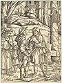Hans Burgkmair I, Pilgrims at a Wayside Shrine, 1508, NGA 75316.jpg