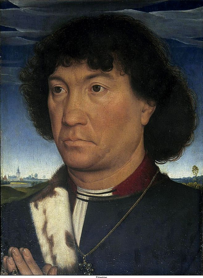 Portrait of a man of the family Lespinette