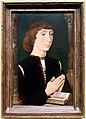 Hans memling, giovane uomo che prega, 1475 ca.jpg