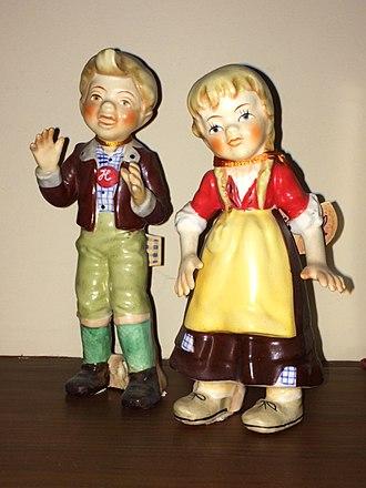Hansel and Gretel: An Opera Fantasy - Image: Hansel & Gretel figurines