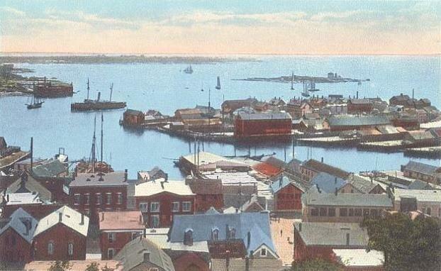 Harbor View & Ten Pound Island Light