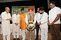 Hardeep Singh Puri lighting the lamp at the National Convention on Law, Court Orders and Govt. Street Vending Programs in the context of Urban and Economic Development in Changing India, in New Delhi.JPG