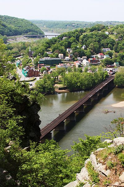 File:Harpers Ferry, West Virginia, USA-1May2010.jpg