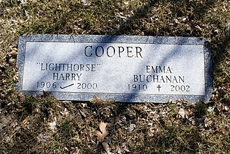 Harry Cooper (golfer) - The grave of Harry Cooper in Kensico Cemetery