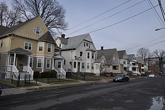 National Register of Historic Places listings in Hartford, Connecticut - Image: Hartford CT Allen Lincoln HD 1