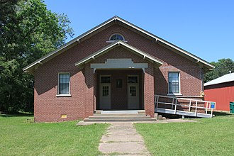National Register of Historic Places listings in Columbia County, Arkansas - Image: Harvey C. Couch School