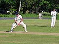 Hatfield Heath CC v. Netteswell CC on Hatfield Heath village green, Essex, England 10.jpg